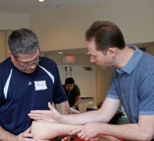 Massage therapy instruction